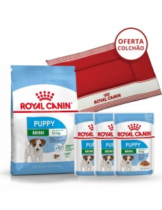 Pack Royal Canin Mini Puppy - Oferta Cama para cão
