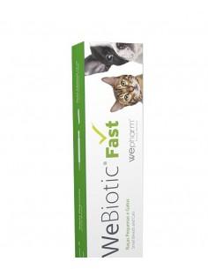 WeBiotic Fast -12ml Cuidar da função intestinal cão raça pequena e gatos Wepharm Vitaminas e Complementos