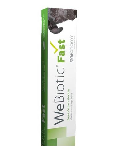 WeBiotic Fast - 30ml Cuidar da função intestinal cão raça grande Wepharm Vitaminas e Complementos