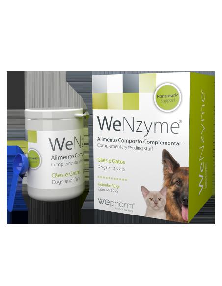 WeNzyme - 50 gr Cuidar da função pancreática de cães e gatos