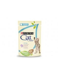 Purina Cat Chow Kitten Alimento Húmido para Gatinhos com peru e courgetes | Comida Húmida Gatos | Cat Chow