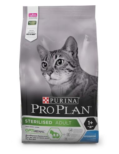 Pro Plan Gato Sterilised Coelho   Ração para Gatos Esterilizados   Pro plan