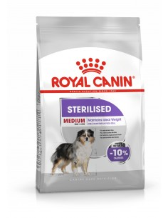 Royal canin Medium Sterilised, Alimento Seco Cão