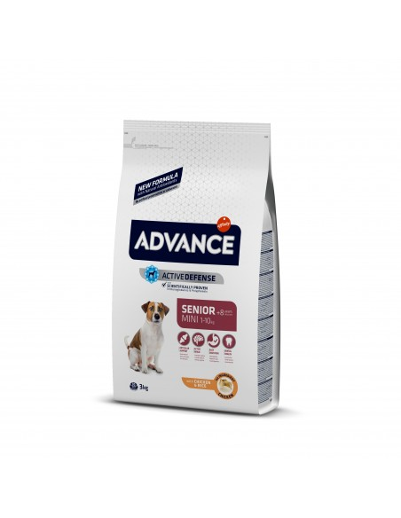 Advance Mini Senior Advance Affinity Alimentação Seca para Cães