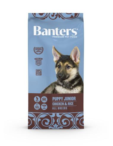 Banters Puppy Frango | Ração Seca para Cães | Banters