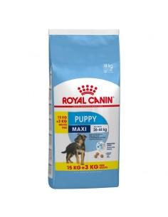 Royal Canin Maxi Puppy 15+3kg Grátis, Alimento Seco Cão