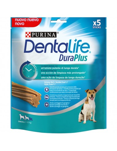Dentalife DuraPlus Snack de Higiene Oral para cão adulto pequeno Purina  Snacks
