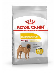 Royal Canin Medium Dermaconfort, Alimento Seco Cão