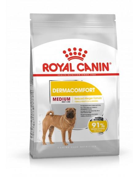 Royal Canin Medium Dermaconfort, Alimento Seco Cão