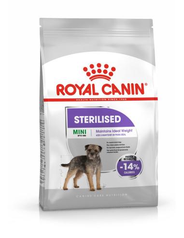 Royal Canin Mini Sterilised, Alimento Seco Cão   Ração para Cães Esterilizados   Royal Canin