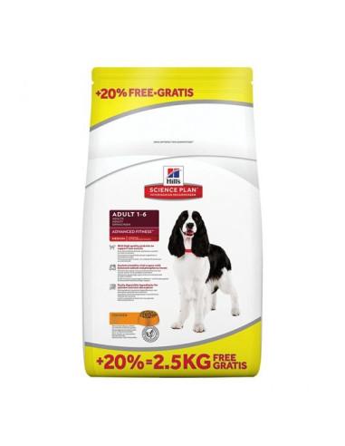 Hill's Science Plan Canine Adult Medium Frango 12 + 2,5KG Hill's Alimentação Seca para Cães
