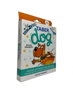 TaberDog - Coleira Antiparasitaria Grande 60cm | Cães |