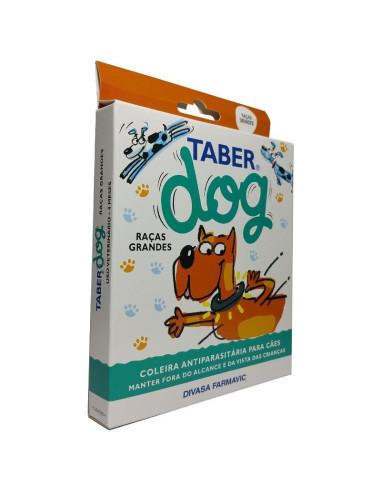 TaberDog - Coleira Antiparasitaria Grande 60cm Cães
