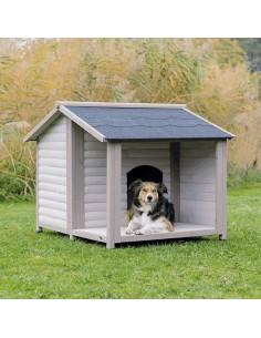 "Casota para cães ""Lodge"" cinza"