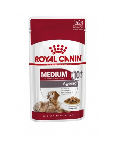Oferta 6 saquetas de Ração Húmida Medium Ageing Royal Canin Ofertas