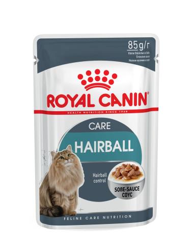 Oferta 6 saquetas de Ração Húmida Hairball Royal Canin Ofertas