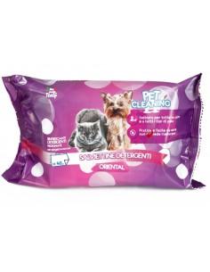 Toalhetes de Limpeza Cães e Gatos - Oriental 40 unidades Higiene, Saúde e Beleza