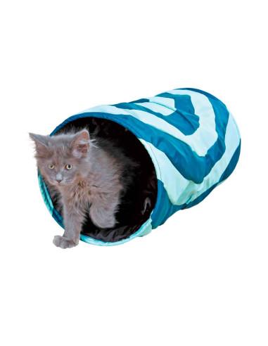 Tunel de Brincar para gato em poliester Trixie Brinquedos para gatos