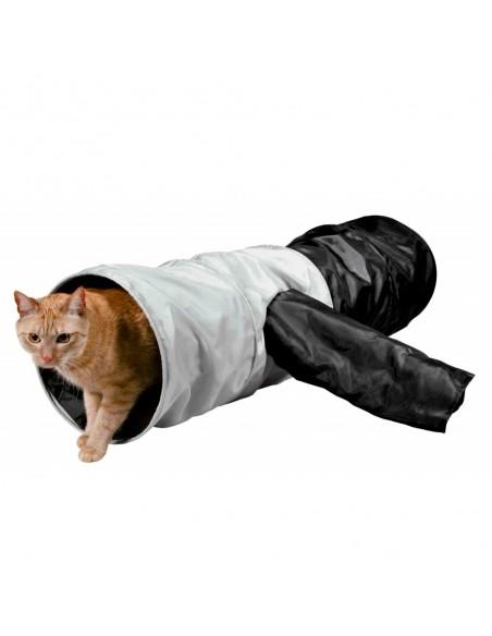 Tunel de Brincar em poliester 4 entradas | Brinquedos para gatos | Trixie