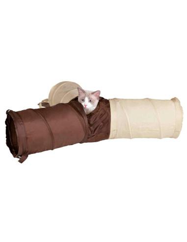 Túnel de brincar em nylon | Brinquedos para gatos | Trixie