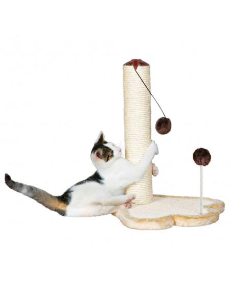 Arranhador para gato com Brinquedo Trixie Arranhador para Gatos