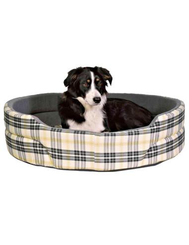 Cama para Cães Lucky Cinzento Xadrez Trixie Camas para cães