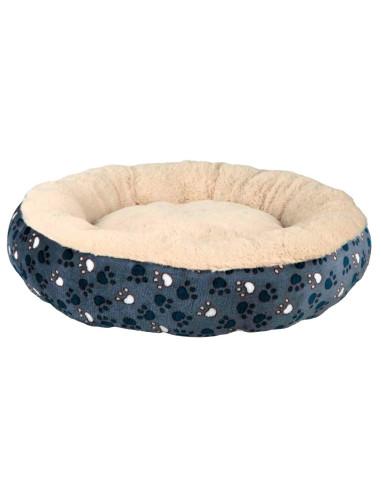Cama para Cães Redonda Tammy Azul e Bege Trixie Camas para cães