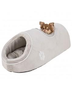 Cama para Cães Nicho Nica com 2 Entradas Cinzento Trixie Camas para cães