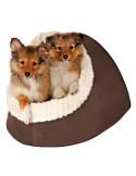 Cama para Cães Nicho Timur Castanho e Bege Trixie Camas para cães