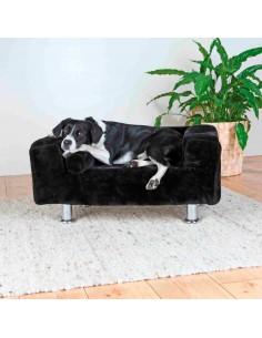 Sofá para Cães King of Dogs Preto Trixie Camas para cães