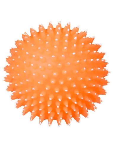 Bola para Cães Ouriço em Vinil Fluorescente Trixie Bola para Cães