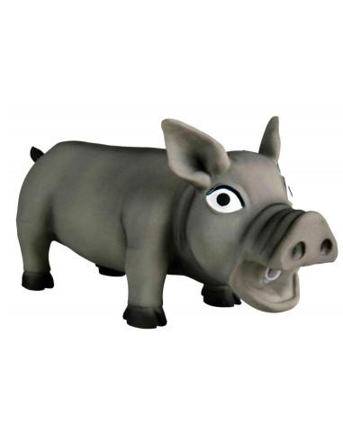 Brinquedo para Cães Porco com Som Original Latex Trixie Outros