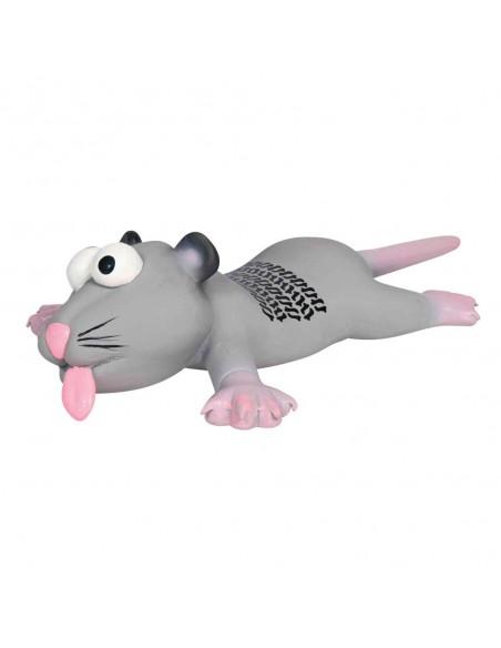 Brinquedo para Cães Rato com Marca Pneu 22cm