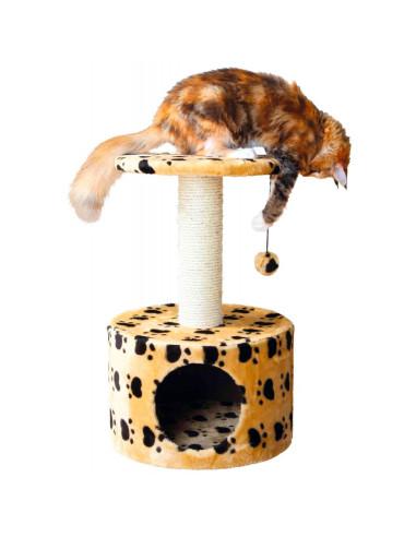 Arranhador para Gatos Toledo Bege com Patinhas Trixie Arranhador para Gatos