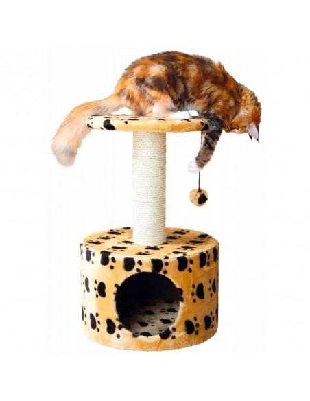 Arranhador para Gatos Toledo Bege com Patinhas
