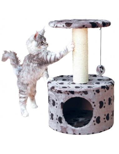 Arranhador para Gatos Toledo Cinzento com Patinhas   Arranhadores para Gatos   Trixie