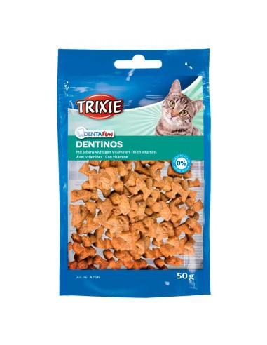 Biscoitos para Gatos Dentinos Snacks com Vitaminas | Snacks para Gatos | Trixie