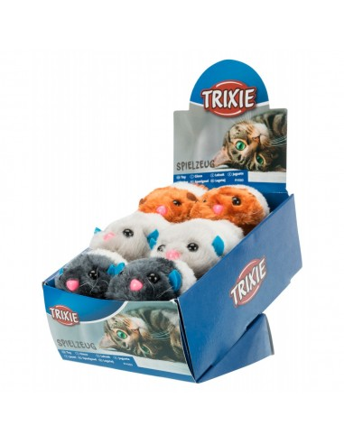 Brinquedo Gato Treme em Pelúcia de dar Corda Trixie Brinquedos para gatos