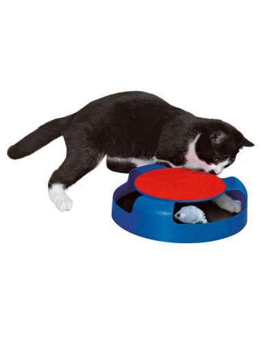 Brinquedo Gato Apanha o Rato com Rato em Pelúcia | Brinquedos para gatos | Trixie