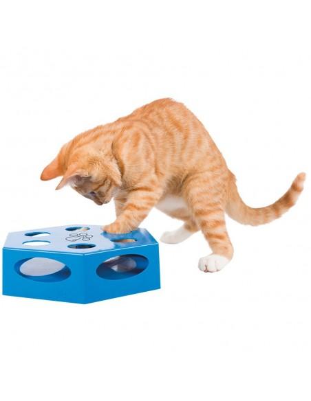Jogo de Gato Turning Feather Azul