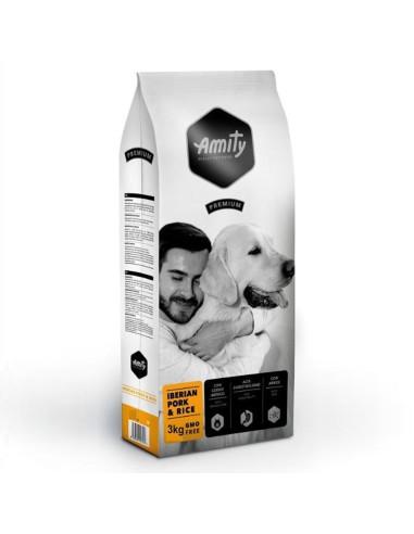 Amity Premium Iberian Pork & Rice 3 Kg | Ração Seca para Cães | Amity