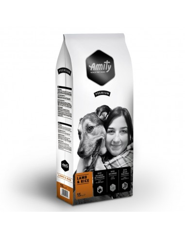 Amity Premium Lamb & Rice 3 Kg | Ração Seca para Cães | Amity