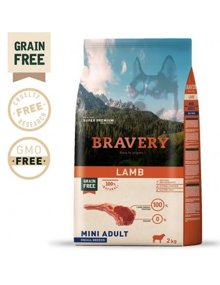 Bravery Lamb Mini Adult Small 2 Kg