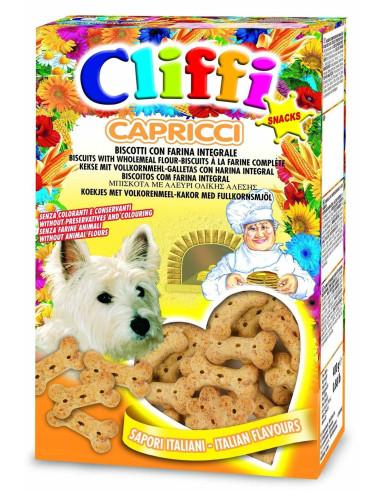 Cliffi - Capricci (Biscoitos P/ Caes) 400 Gr (Pcat205) | Biscoitos para Cães | Chemi-Vit