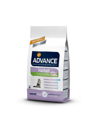 Advance Cat Hairball Perú & arroz Advance Affinity Cuidados Especiais