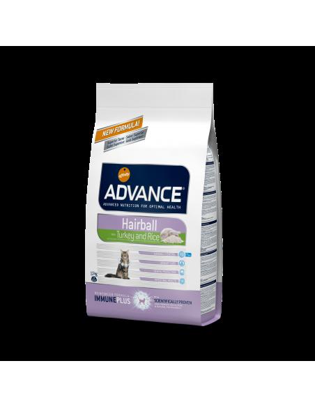 Advance Cat Hairball Perú & arroz