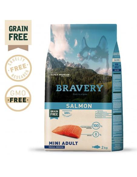 Bravery Salmon Mini Adult Small 7 Kg