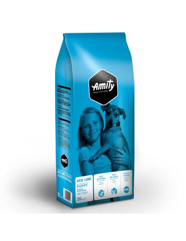 Eco Line Amity Puppy 20 Kg Amity Ração Seca para Cães