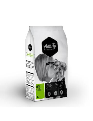 Amity Premium Mini Adult 10 Kg Amity Ração Seca para Cães