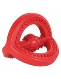 Anel Triangular em Borracha Natural Trixie Brinquedos para Cães